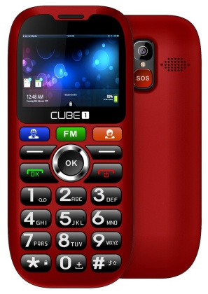 CUBE1 S100 Red (dualSIM)